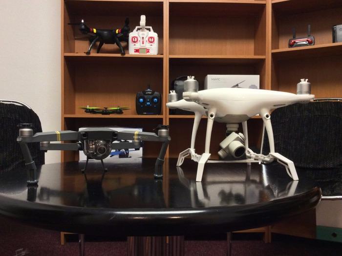 nožičky dronu neboli podvozek na dron