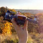 výhled Prahy s dronem DJI Spark