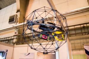 novinka na dronfest 2018 dron Elios